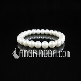 Elegant Imitation Pearls Ladies' Bracelets (011026727)