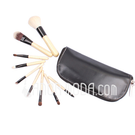 Top Wood professionellen Make-up Pinsel (9 Stück) (046025395)