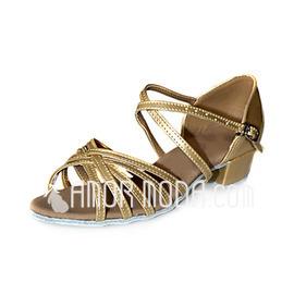 Vrouwen Kinderen Patent Leather Sandalen Flats Latijn Dansschoenen (053013158)
