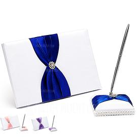 Esplendor Diamantes de imitación/Arco Libro de visitas & sistema de la pluma (101018132)