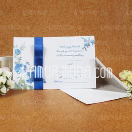 Estilo clásico Tarjeta plana Invitation Cards con Cintas (Juego de 50) (114030747)