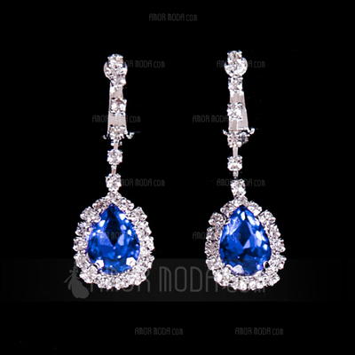 Gorgeous Legering/Strass Damer' Smycken Sets (011012945)