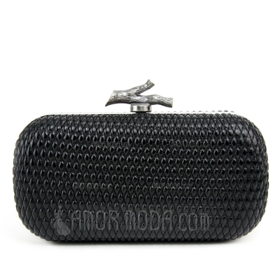 Mode PU mit Metall Handtaschen (012051294)