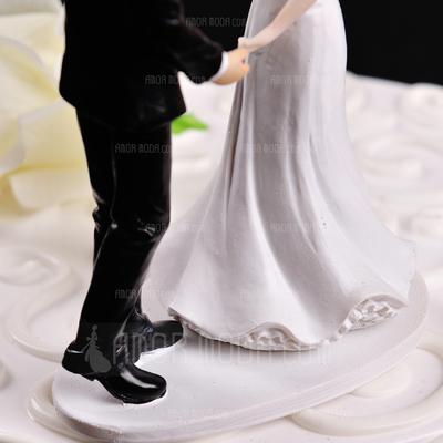 Figurina Balli di coppia Resine Matrimonio Decorazioni per torte (119057805)