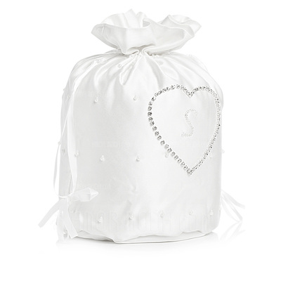 Elegant Satin With Rhinestone Bridal Purse (012003971)