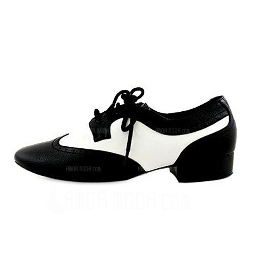 Mannen Echt leer Flats Latijn Ballroom Oefening Dansschoenen (053012954)
