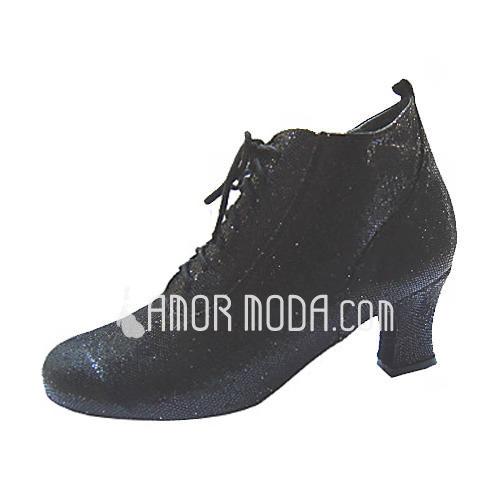 Vrouwen Kunstleer Hakken Pumps Ballroom Swing Dansschoenen (053013475)
