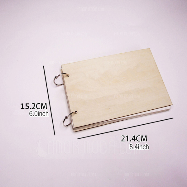 gepersonaliseerde ontwerp Hout Gastenboek (101198161)