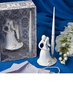 Bride and Groom Design Resin Pen Set (101020364)