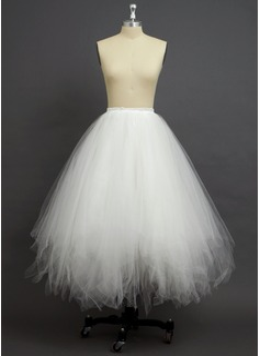 Women Tulle Netting/Polyester Floor-length 4 Tiers Petticoats (037034007)