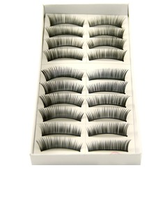 Manual Looking Curved Lashes 1088# - 10 Pairs Per Box  (046026697)