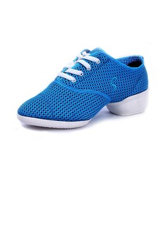 Women's Cloth Sneakers Practice Dance Shoes (053056415)