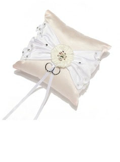 Grace Ring Pillow in Satin With Sash (103055119)