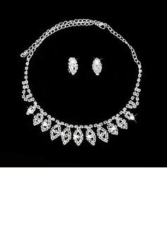 Elegant Legering/Crystal Damene ' Smykker Sett (011027199)