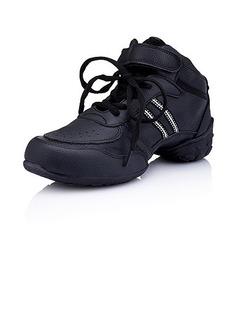 Frauen Kinder Kunstleder Flache Schuhe Tanzschuhe Tanzschuhe Training Tanzschuhe (053012960)
