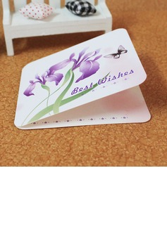 Floral Style/Butterfly Style Side Fold Greeting Cards (Set of 10) (114031182)