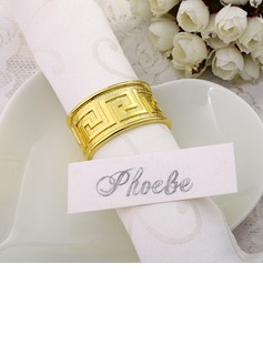 The Great Wall Pattern Napkin Rings (122031251)