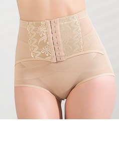 Spandex/Chinlon Front Busk Closure Shaping Panties (125033862)
