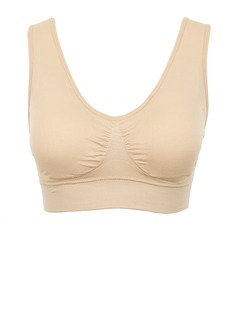Plus Size Comfortable Polyester Bra (041055869)