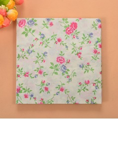 Flower Pattern Beverage Napkins (Set of 20) (122057830)