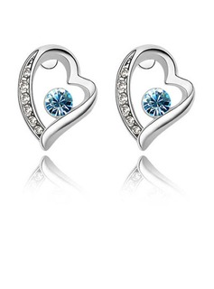 Fashional Alloy With Crystal Ladies' Earrings (011036398)
