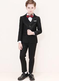 Boys 5 stycken Klassisk Stil Passar till ringbärare /Page Boy Suits med Jacka Skjorta Väst Byxor Fluga (287204962)