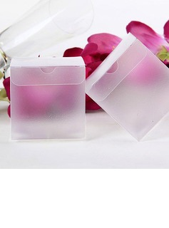 Translucent Cubic Favor Boxes (Set of 12) (051024386)