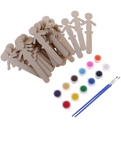 Lovely Wooden Creative Gifts (Set of 16) (051179163)
