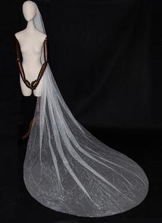 One-tier Cut Edge Chapel Bridal Veils (006189450)