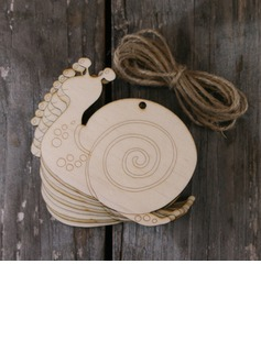 Simple/Classic/Beautiful Nice/Lovely Wooden Wedding Ornaments (set of 10) (131178949)