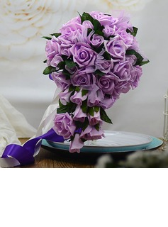 Attractive Hand-tied Foam/Poly Ethylene Bridal Bouquets (123053200)