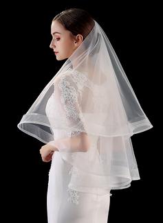 Uno capa Lápiz Yema del dedo velos de novia (006201031)
