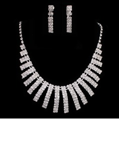Elegant Alloy With Rhinestone Ladies' Jewelry Sets (011005483)
