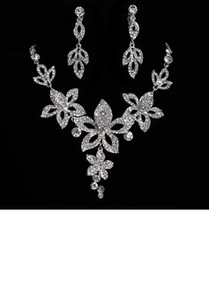 Elegant Alloy/Rhinestones Women's Jewelry Sets (011017104)