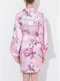 Bridesmaid Silk Floral Robes (248176074)