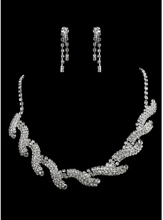 Charming Alloy/Rhinestones Ladies' Jewelry Sets (011006364)