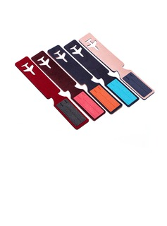 Plane Design Rubber Luggage Tags (051052043)