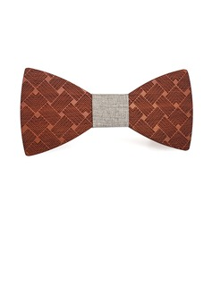 Style Classique Modern Style Style Vintage Bois Bow Tie (200198622)