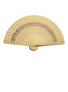 Amazing Sandalwood Hand fan (Set of 4) (051055109)