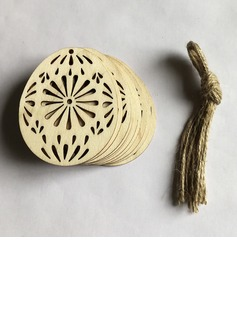 Simple/Beautiful Nice/Lovely Wooden Wedding Ornaments (set of 10) (131178941)