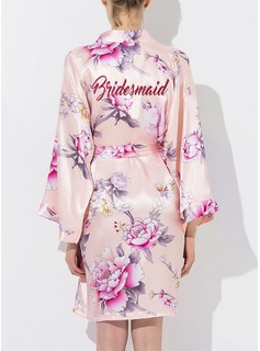 Bridesmaid Silk Floral Robes (248176081)