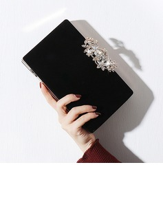 Delicate Polyester Clutches/Luxury Clutches (012199345)