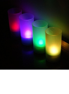 Color changing Glittering LED Lights Candle (set of 4) (131036835)