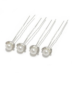 Bridesmaid Gifts - Elegant Fashion Alloy Imitation Pearls Jewelry (Set of 4) (256170278)