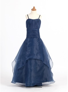 Princess Organza Girl Dress With Ruffle (010007669)