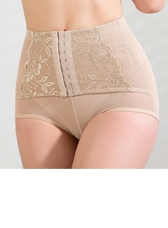 Cotton/Chinlon Front Busk Closure Shaping Panties (125033941)
