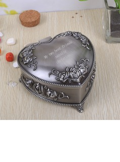 Bridesmaid Gifts - Personalized Classic Elegant Alloy Jewelry Box (256170266)