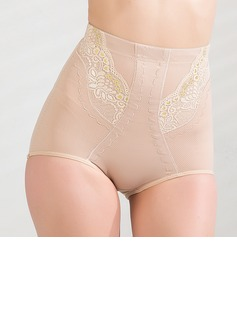 Cotton/Chinlon with Lace High Waist Shaping Panties (125034030)