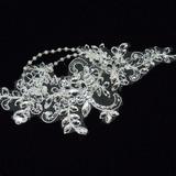 Prächtig Lace Stirnbänder mit Strass/Venezianischen Perle (042026176)