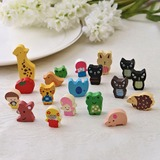 Lovely Wooden Fridge Magnets (Set of 19 pieces) (051053237)